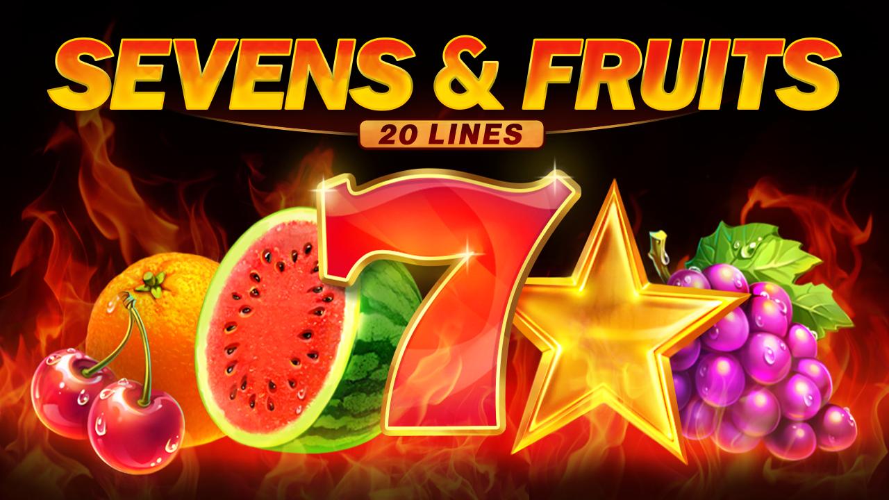 Sevens&Fruits: 20 Lines Logo