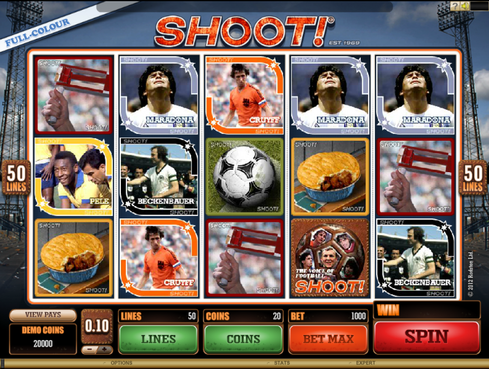 Shot! Slot Images - CasinoTopp