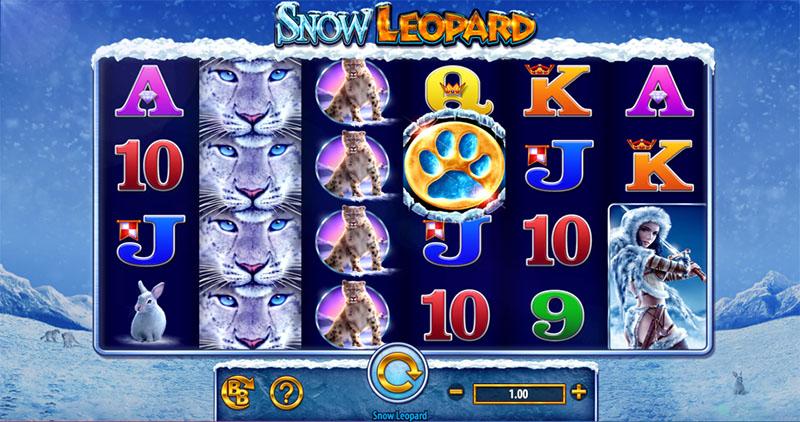 Snow Leopard Slot Screenshot - CasinoTopp