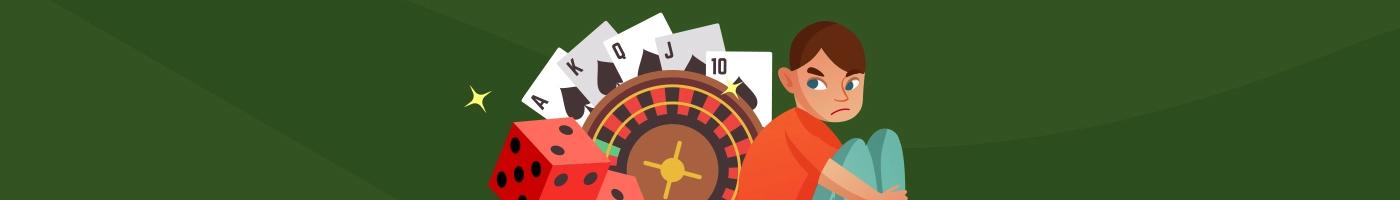 Spilleavhengighet Slik kan du stoppe a gamble for det er for sent Banner - CasinoTopp