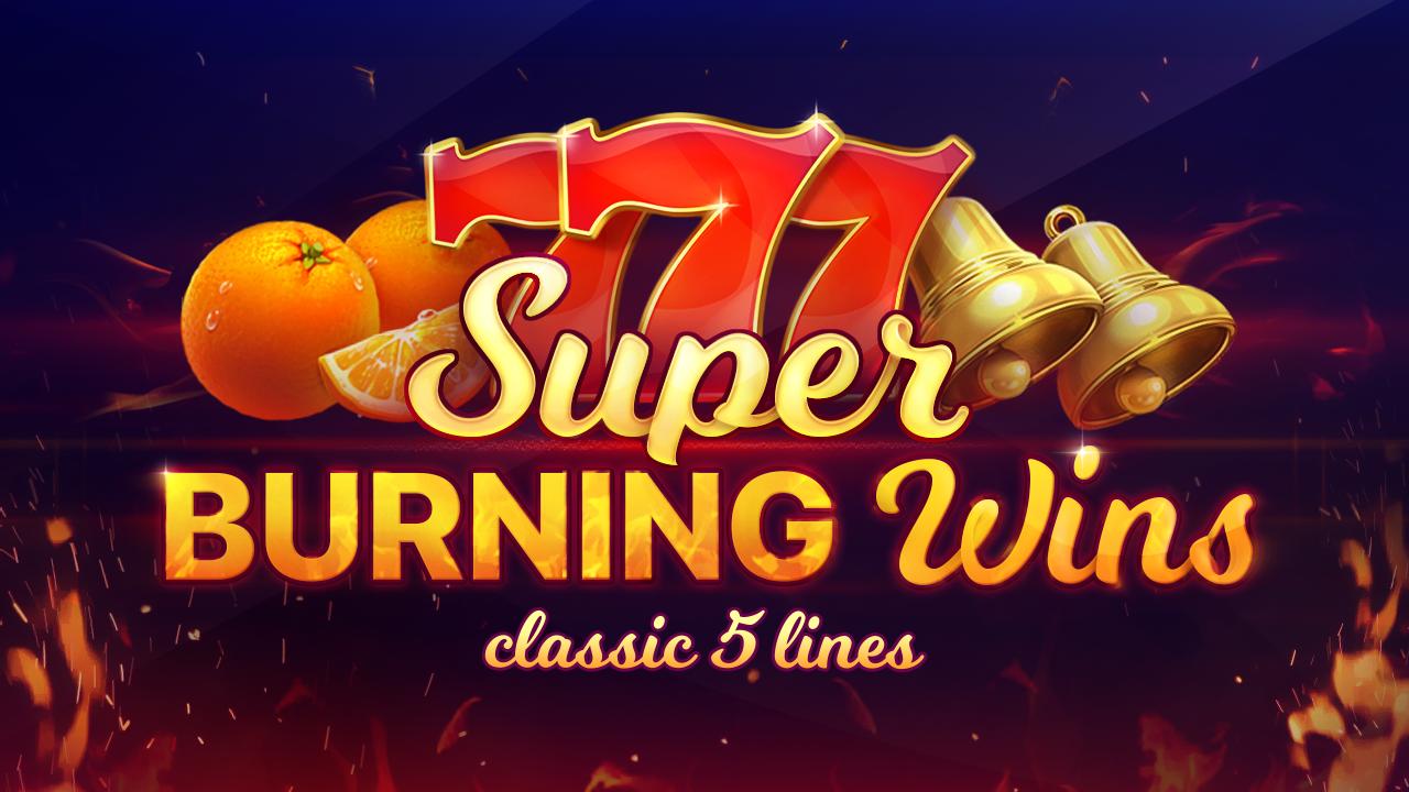 Super Burning Wins Logo
