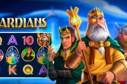 Ta turen til den himmelske byen Asgard i spilleautomaten Asgardians