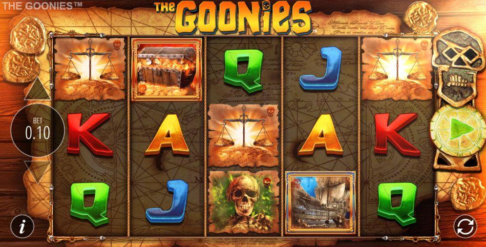 The Goonies Slot Images - CasinoTopp