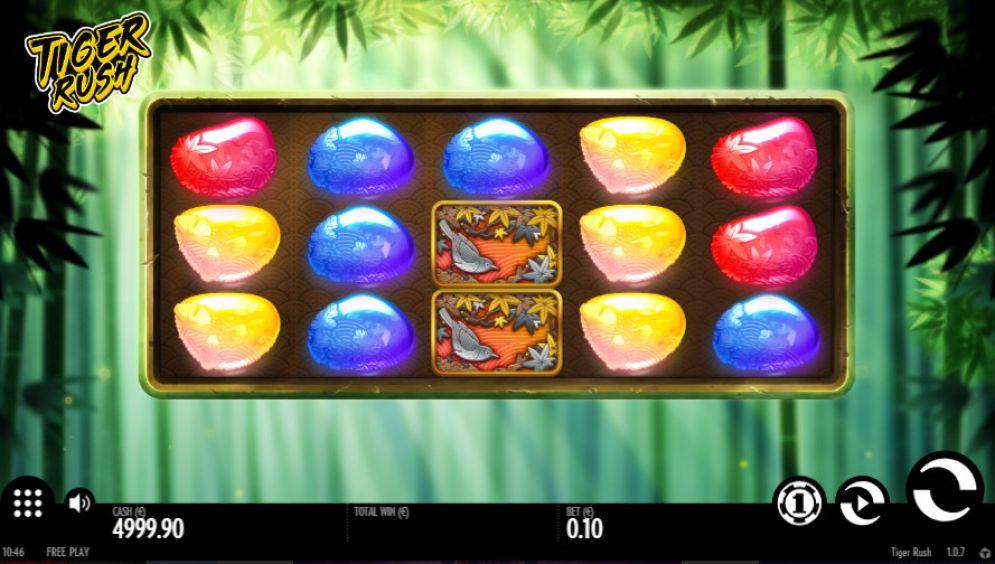 Tiger Rush Slot Images - CasinoTopp