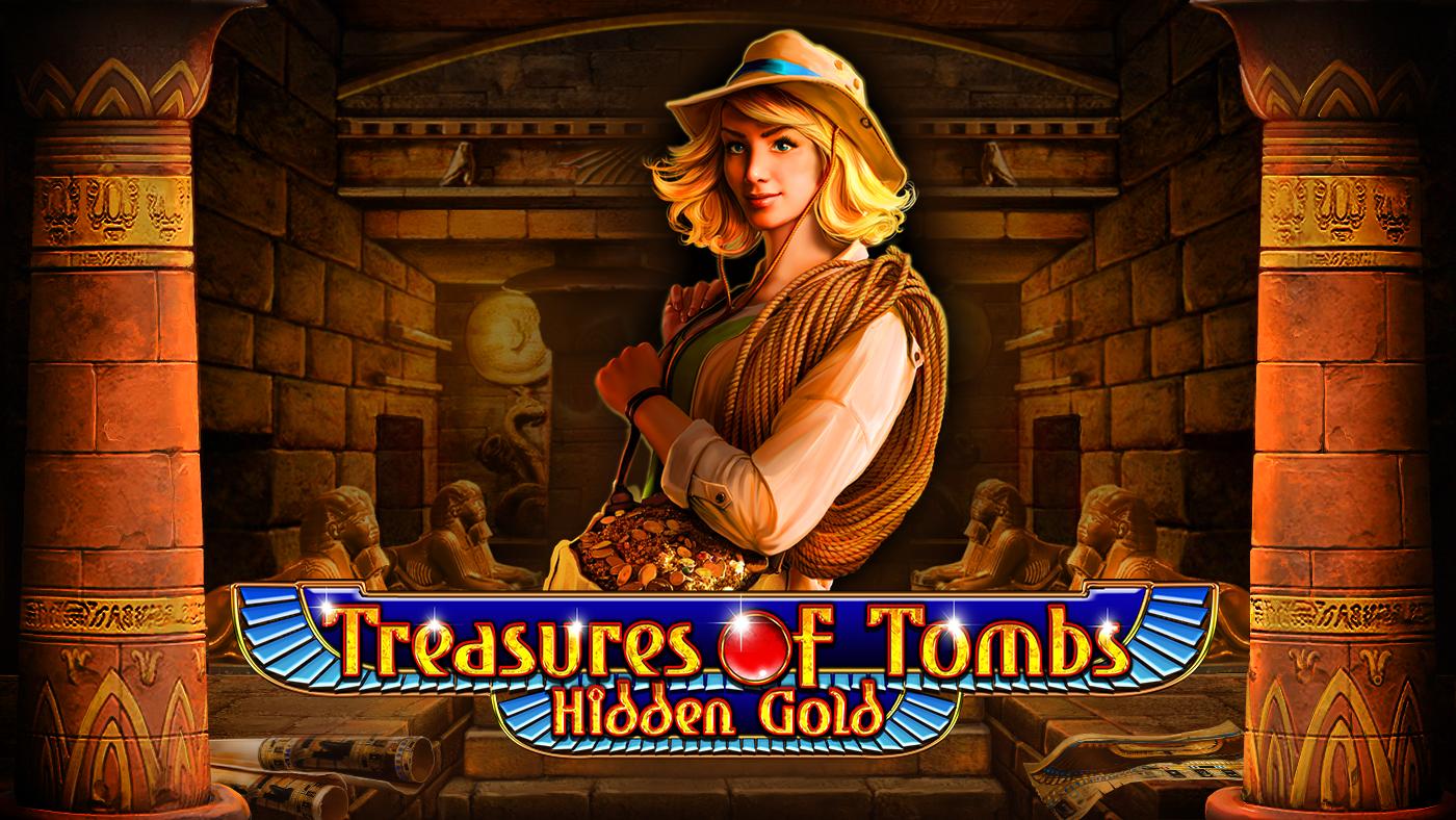 Treasures of Tombs Hidden Gold Logo