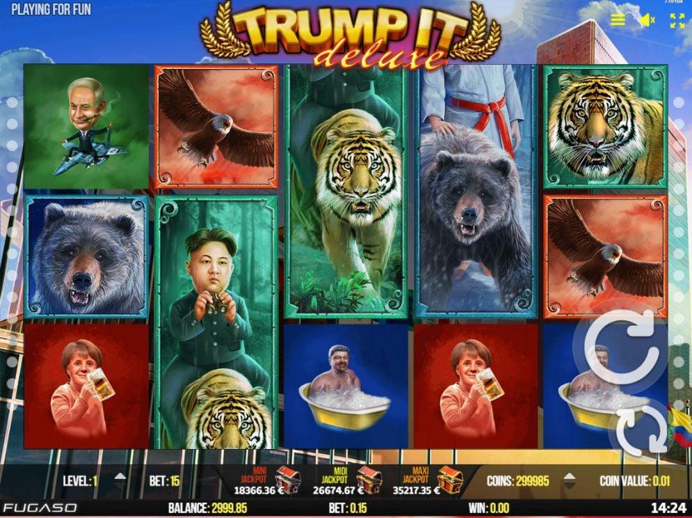 Trump It Deluxe Slot Images - CasinoTopp