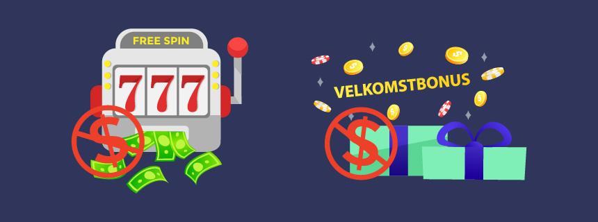 Ulike typer av bonuser uten innskudd