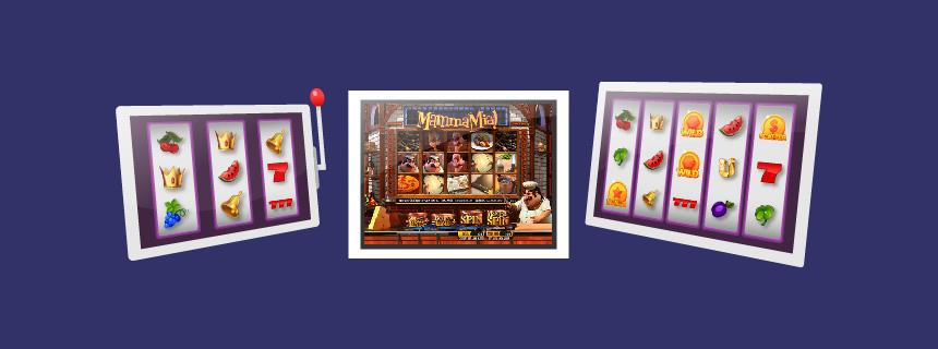 Ulike typer online spilleautomater