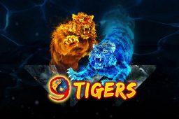 Utforsk mystikken i spilleautomaten 9 Tigers og dans til lyden av gresskar i Sonic Reels