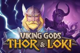 Viking Gods: Thor and Loki Image