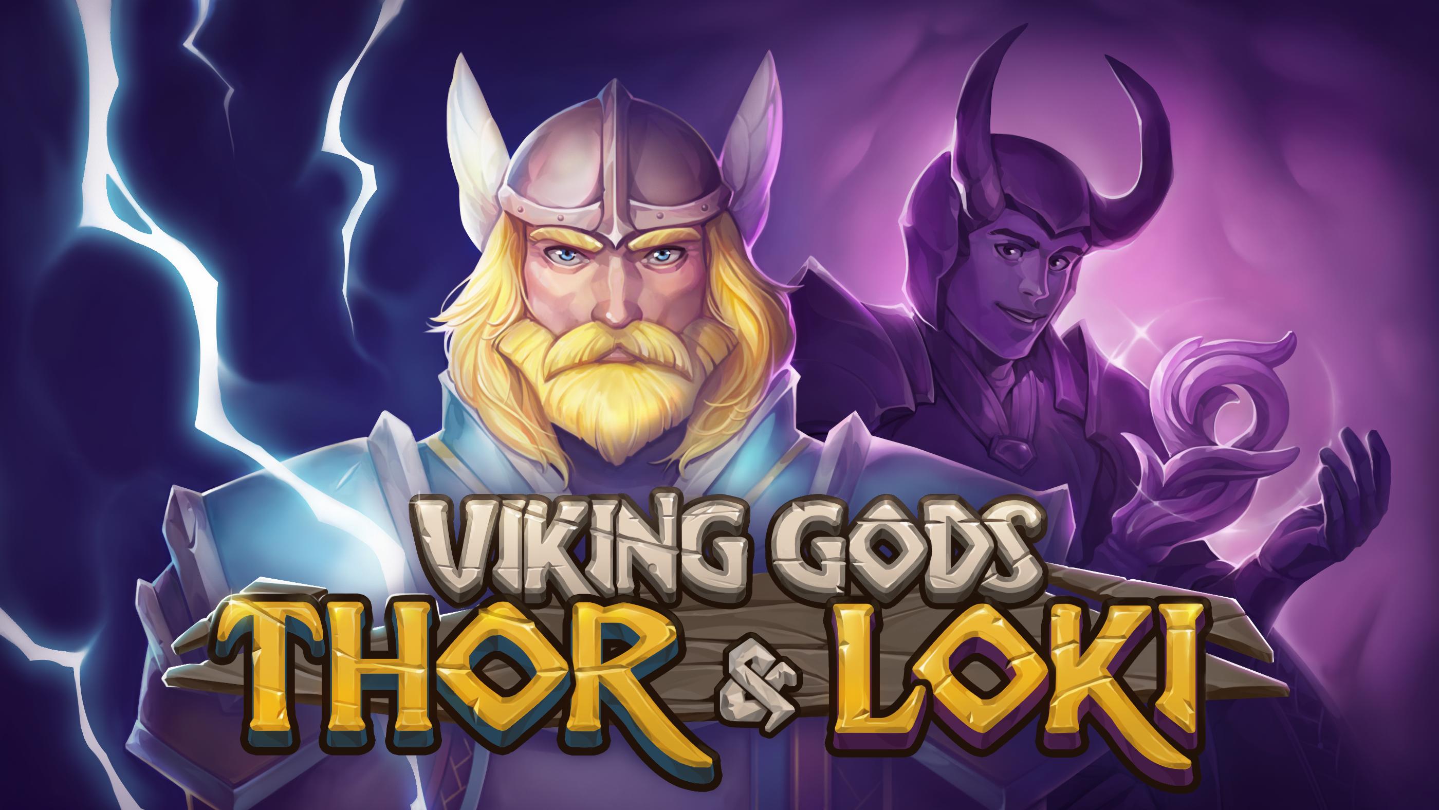 Viking Gods: Thor and Loki Logo