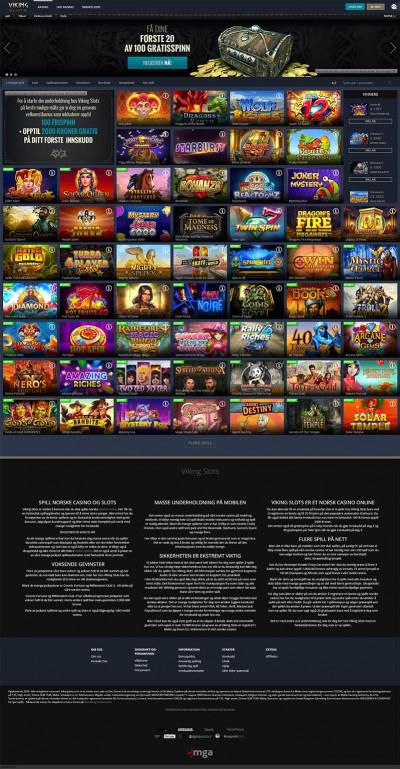 Viking Slots Casino Screenshot