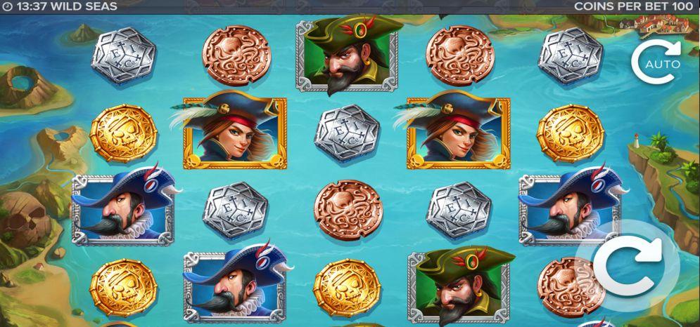 Wild Seas Slot Images - CasinoTopp