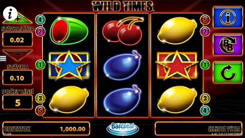 Wild Times Slot Screenshot - CasinoTopp