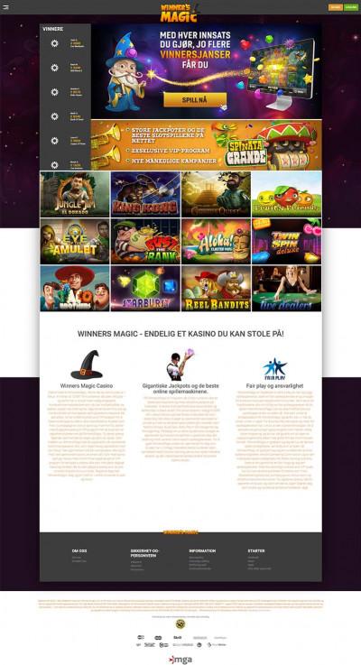 Winner's Magic Casino Screenshot