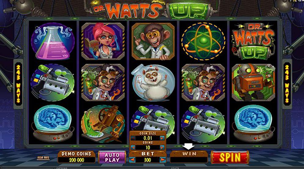 Dr Watts Up Logo