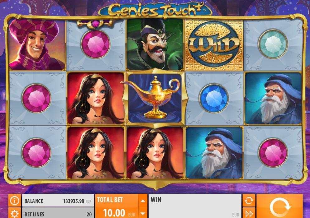 Genie's Touch Logo