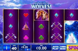 Gjennomgang av Wolves! Wolves! Wolves! av Playtech, inkludert ekte spillernes vurderinger og rangeringer, gratis spillmodus, vinnende skjermbilder, nyeste bonuskoder og kampanjer.