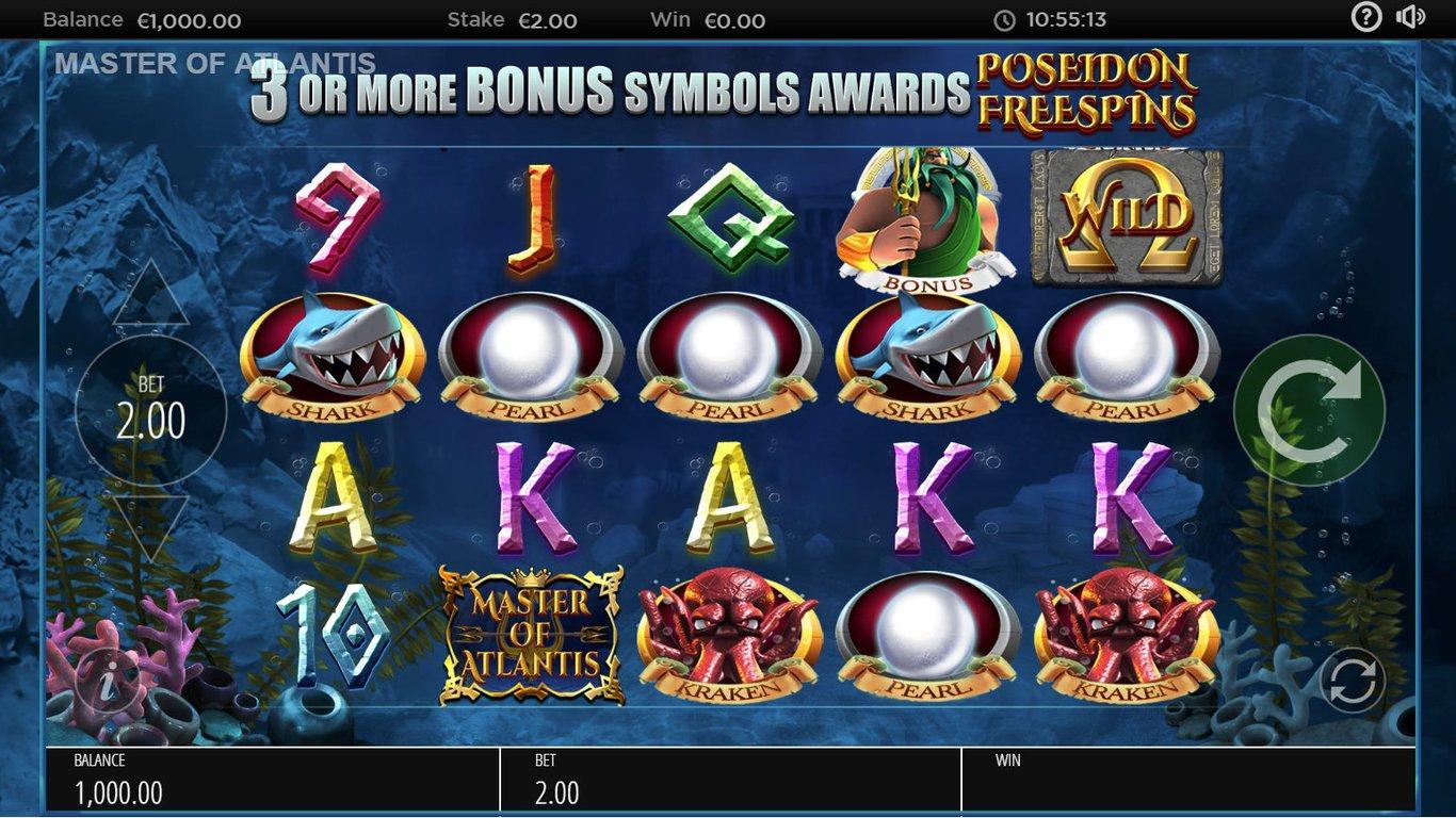 Master of Atlantis - Screenshot 3 | CasinoTopp