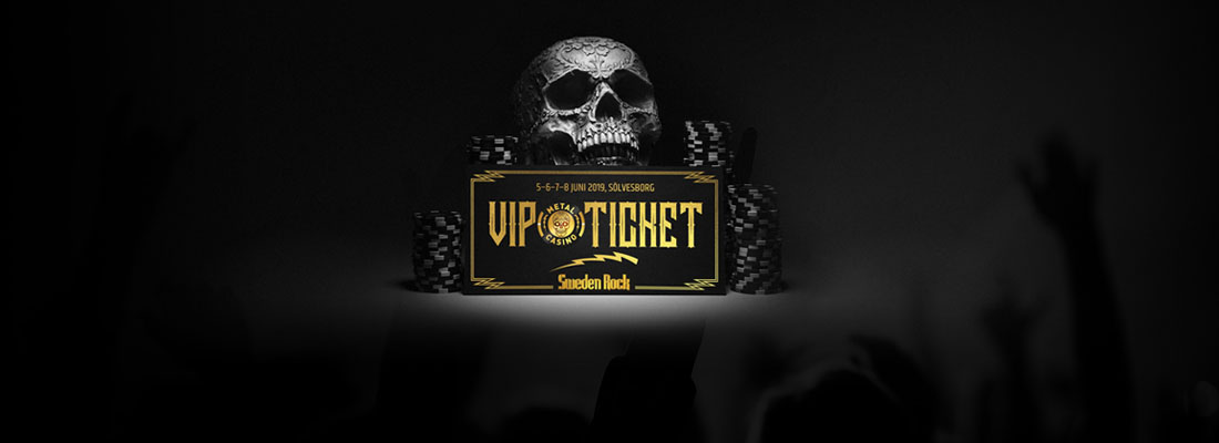 Vinn plåtar till Sweden Rock Festival
