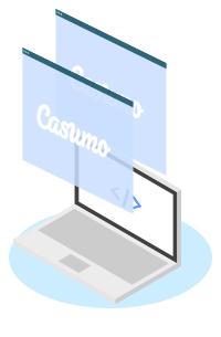Casumo har uppdaterat sajten med en ny design - Sweden CasinoTop Elemet