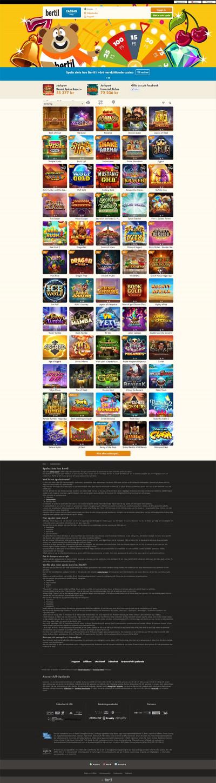 Bertil Casino Screenshot
