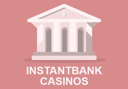 Casinon utan licens med InstantBank-uttag