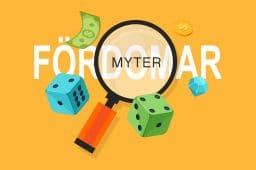 Fördomar och myter om online casino