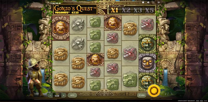 Gonzo's Quest Megaways - CasinoTopp