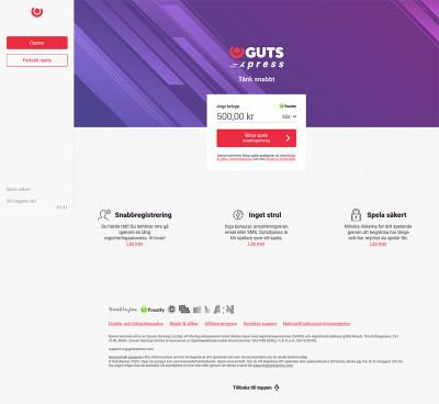 Guts Xpress Screenshot