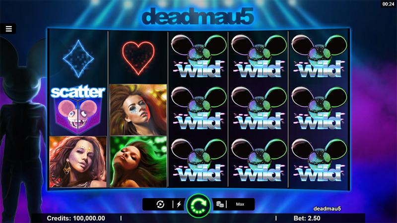 Ny brandad slot med Deadmau5 och Microgaming Slot Images - CasinoTopp