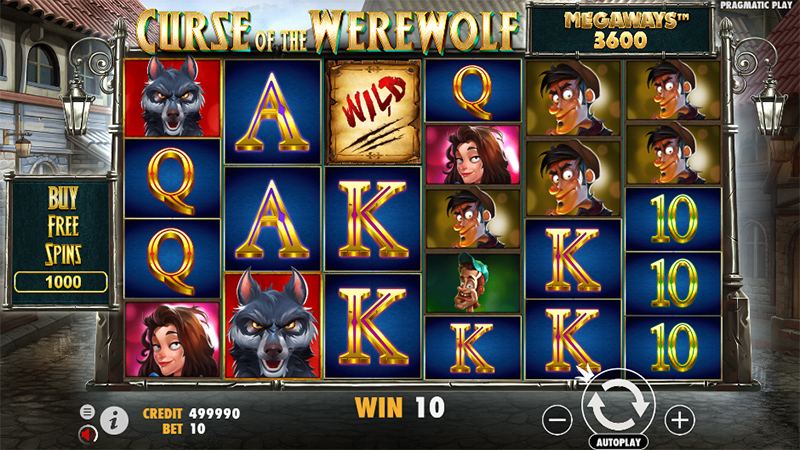 Pragmatic Play släpper nu Curse of the Werewolf Megaways 01 - CasinoTopp