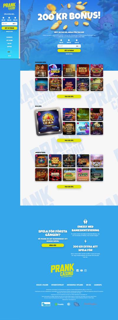 Prank Casino Screenshot