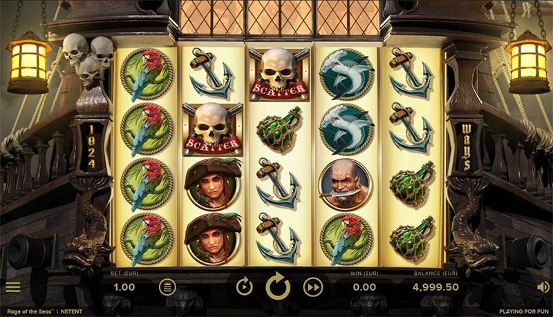Rage of the Seas Slot Images - CasinoTopp