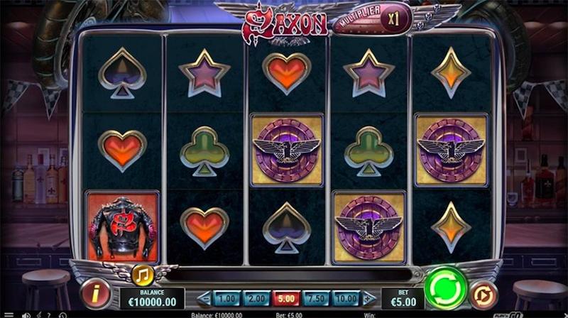 Saxon – Play'n GO - CasinoTopp
