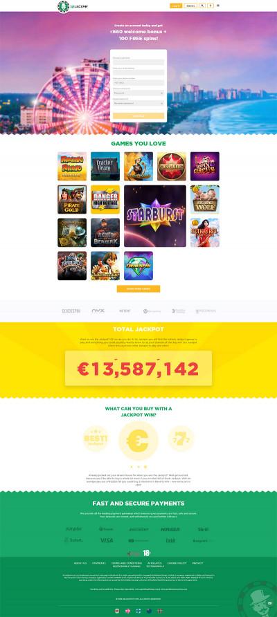 Sir Jackpot Casino Screenshot