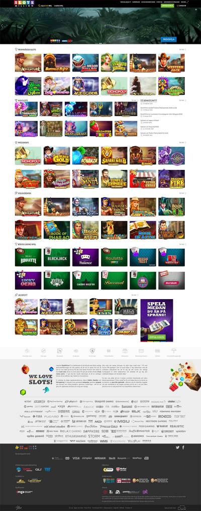 SlotsMillion Casino Screenshot
