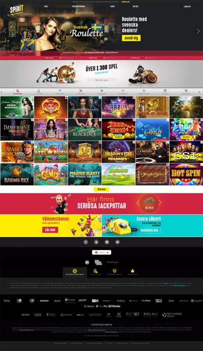 Spinit Casino Screenshot