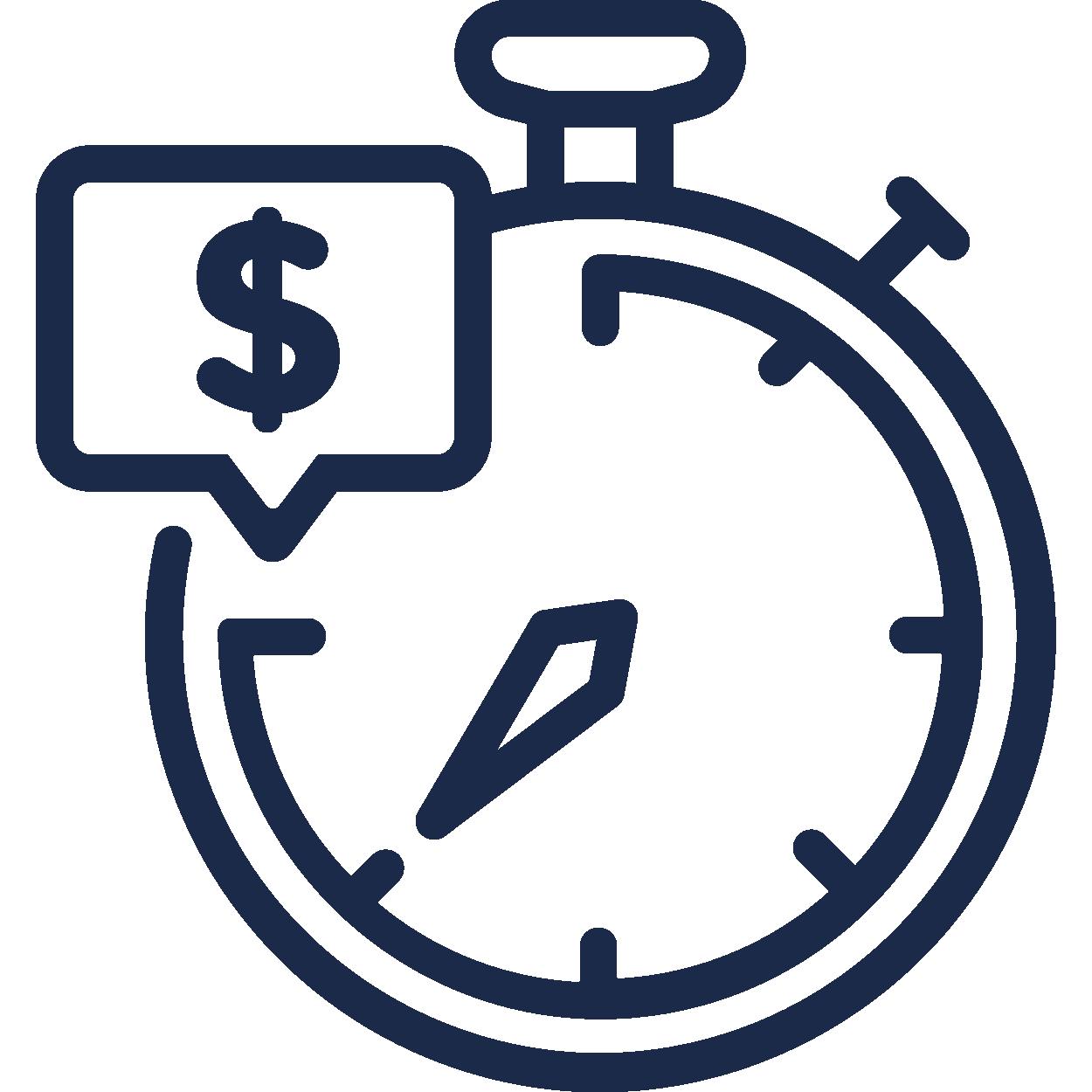 Transaktionstiden icon