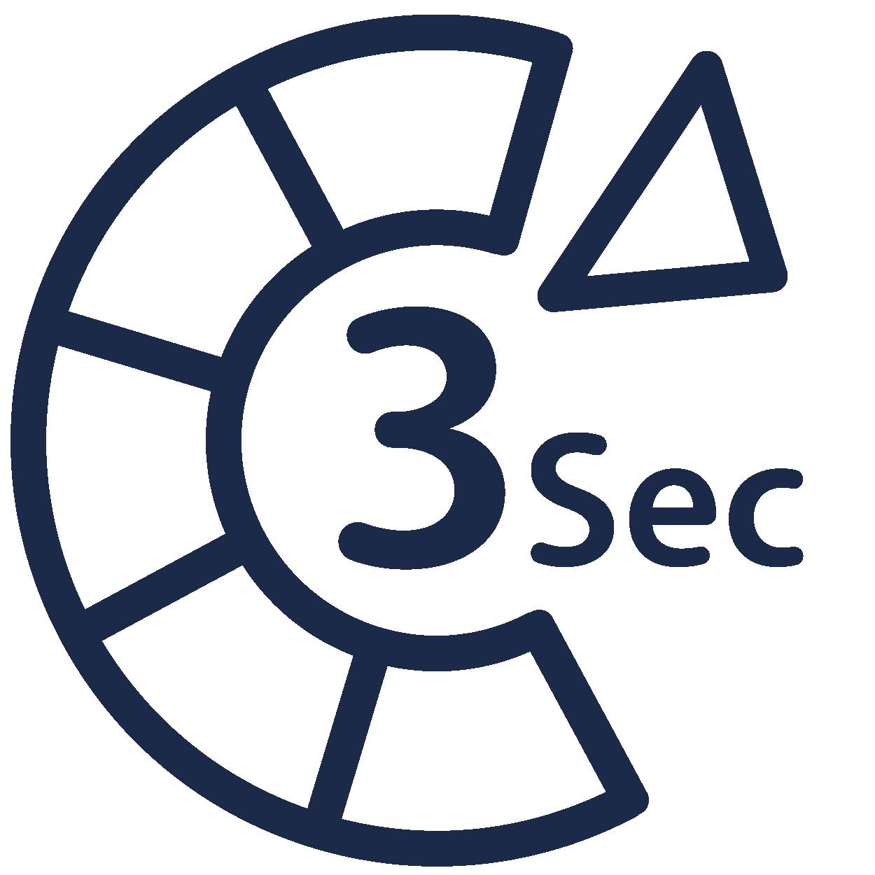 Tre sekunder mellan varje spelomgang icon