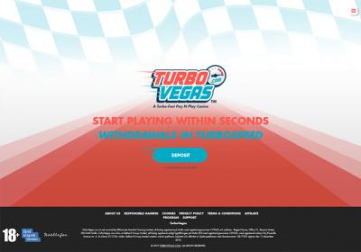 TurboVegas Casino Screenshot