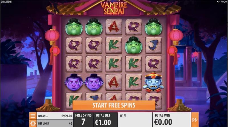 Vampire Senpai – Quickspin - CasinoTopp