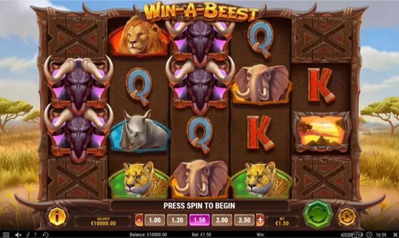 Win-a-Beest - Play'n GO - CasinoTopp