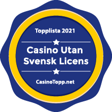Casino Utan Svensk Licens Badge
