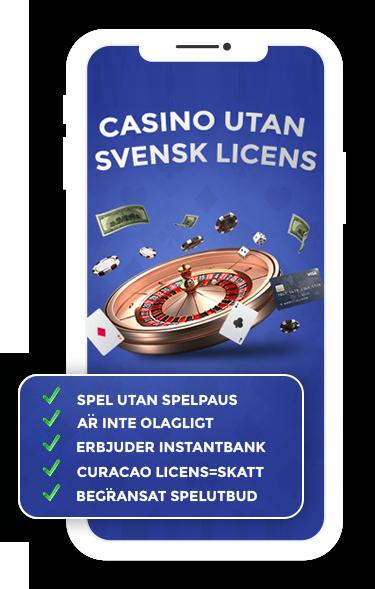 Vad är casino utan svensk licens?
