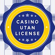 Casino Utan License Badge