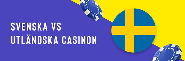 Casino Utan Svensk Licens - Banner 1