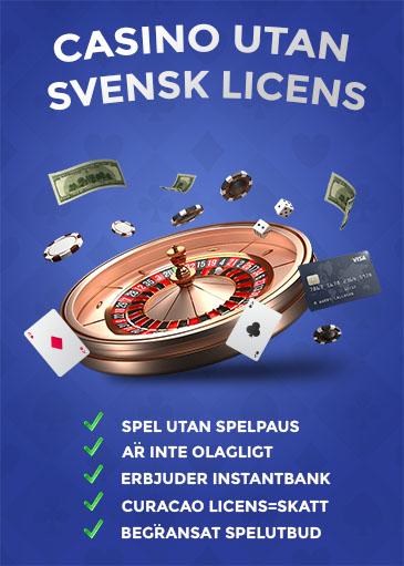 Utländska eller svenska casinon