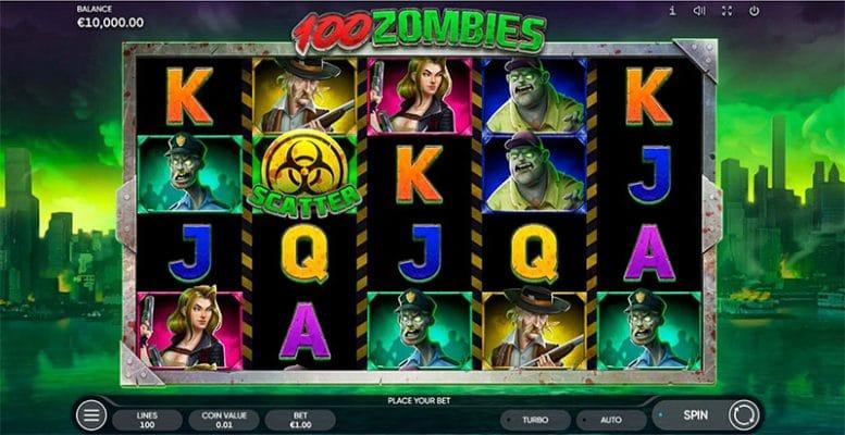100 Zombies Slot Screenshot - CasinoTop