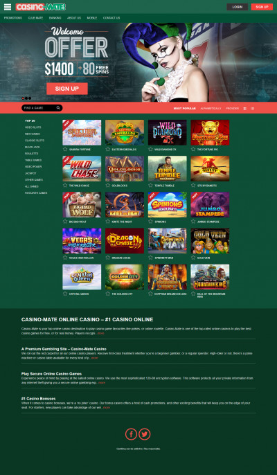 Casino Mate Screenshot